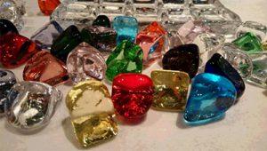 キラキラしたガラスツールを使った色彩心理セラピー体験! @ 大阪本町事務所